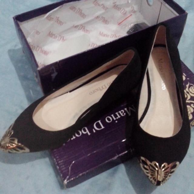 MARIO D' BORO Ladies' BlackShoes
