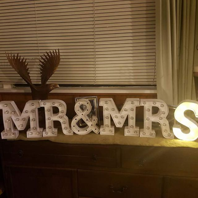 Marquee Letter Lights 20.5cm High