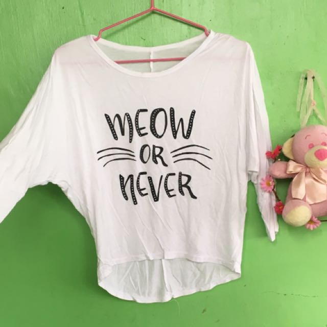 Meow Or Never 3/4s