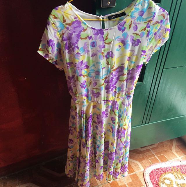 Mint & Co Flowery Dress