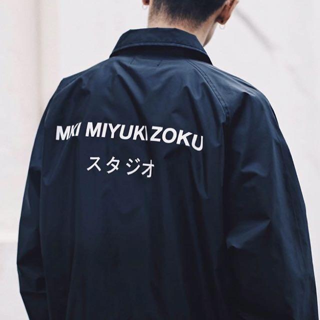 MKI store 教練外套