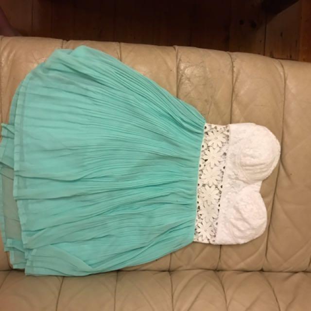 Mooloolaba Strapless Dress