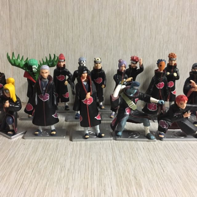 Naruto Action Figures (58 Pieces In Total)