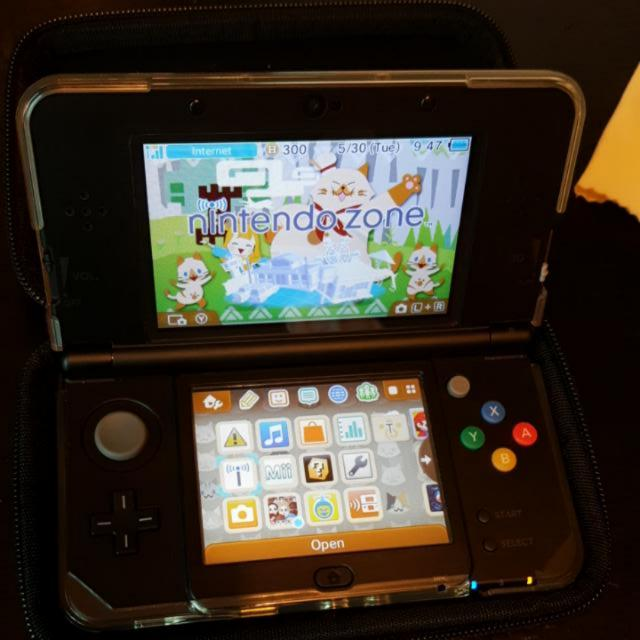 New 3DS REGULAR Black, Dual IPS, CFW, No Ban