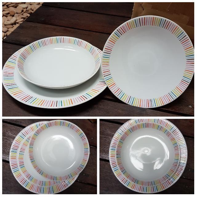 NEW Tabbleware Set Of 12