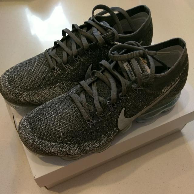 72ce32f53450 Nike Air Vapormax Flyknit Asphalt Dark Grey US9.5 Nmd Og Pk Ub Sns ...