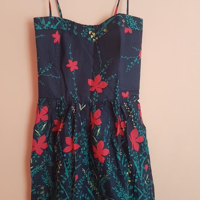 Nita Floral Spaghetti Dress Size 0