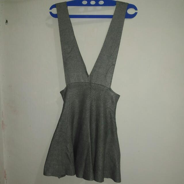Overall Grey Knit