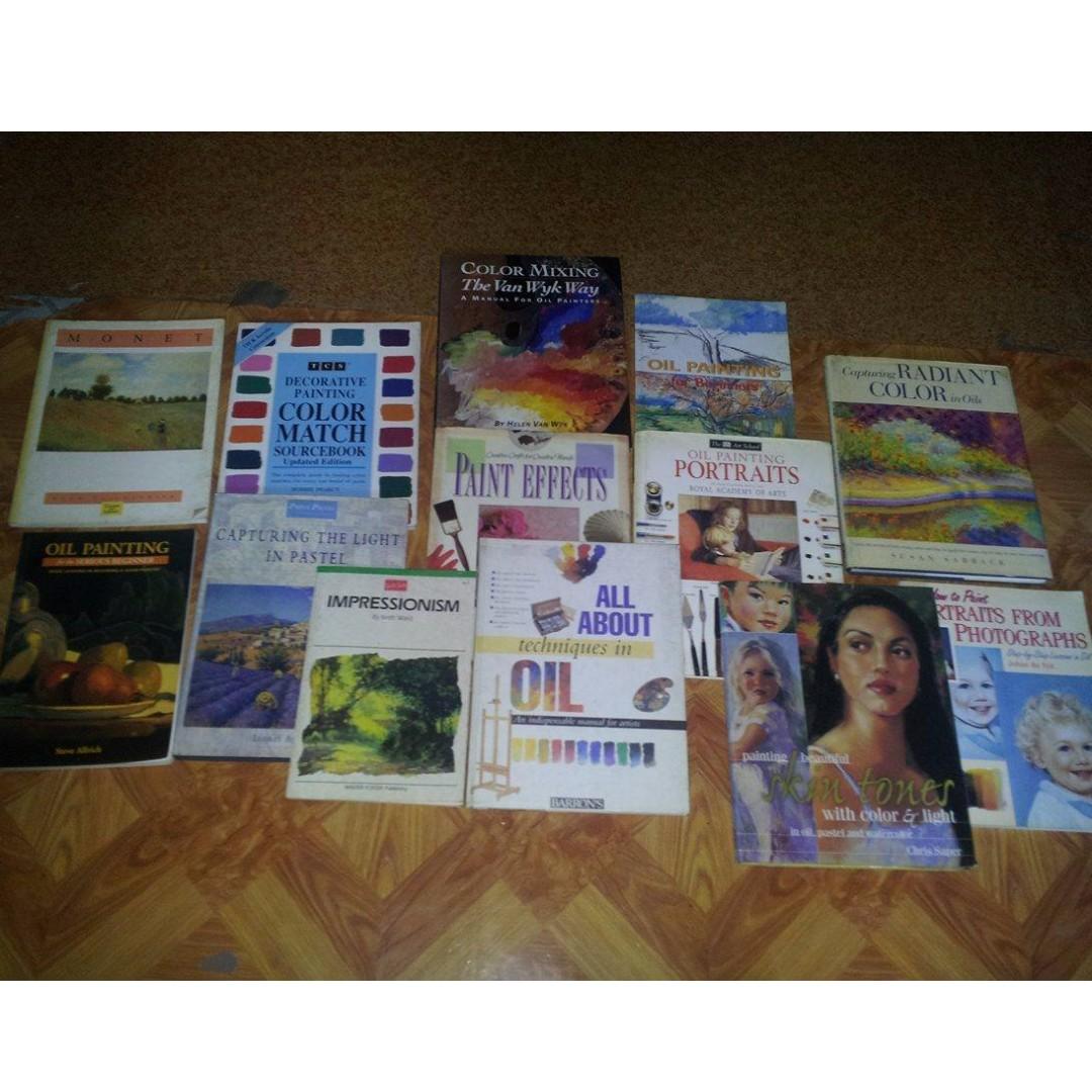 Painting books set