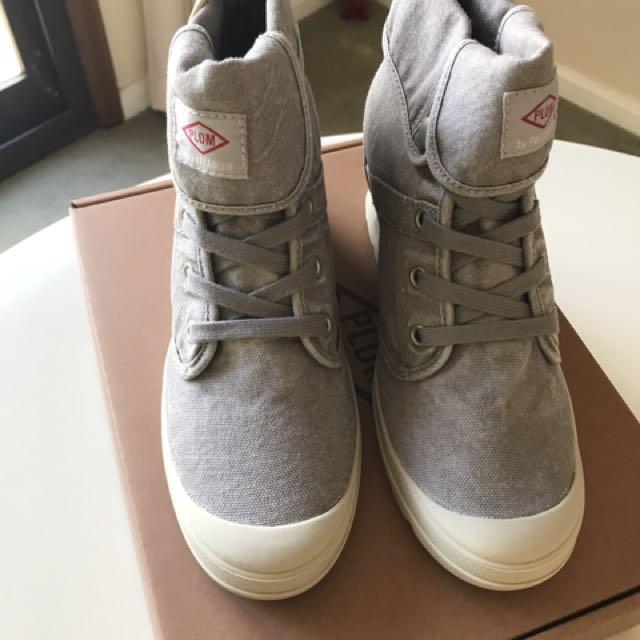 Palladium Ecuador CVS Women's Shoes Grey Size US 7 EUR 38 UK 5