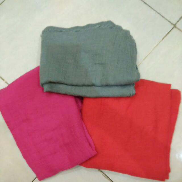 Pashmina Kusut All In