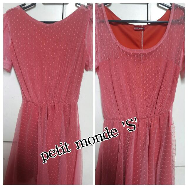Petit Monde Orange Dress