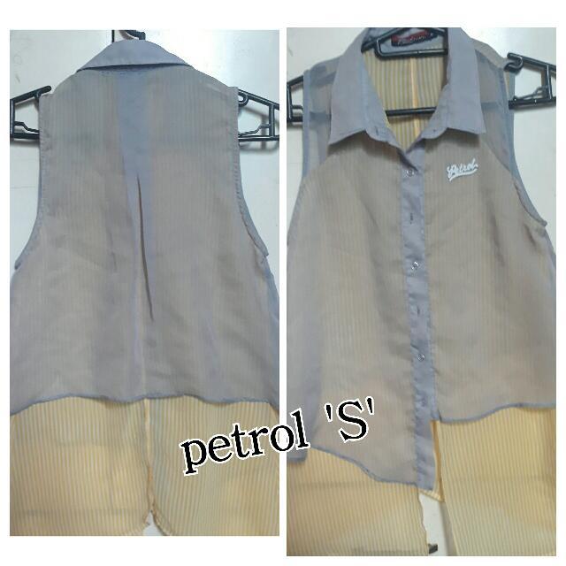 Petrol Blouse