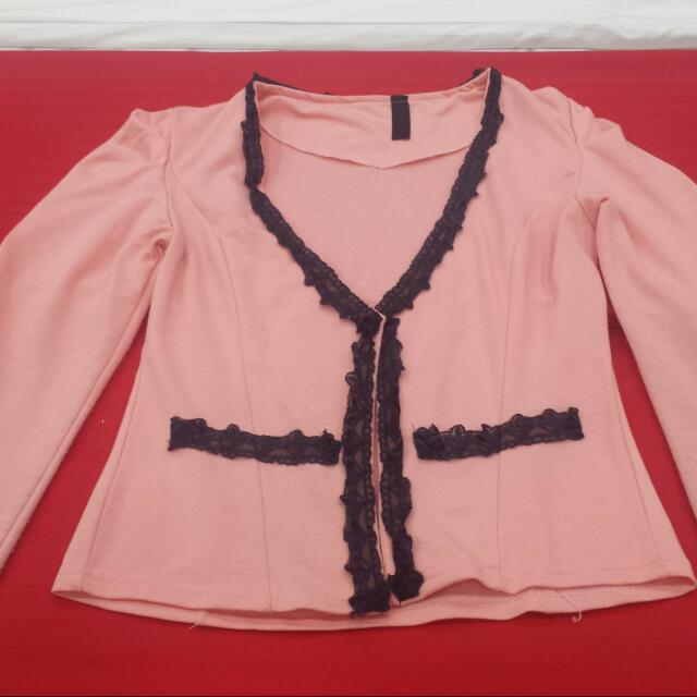 Pink Blazer...