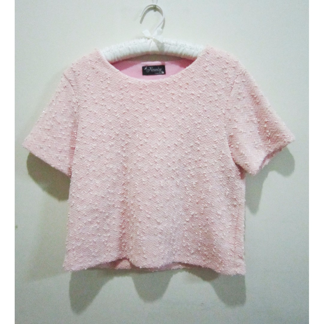 Pinky Glitter Top