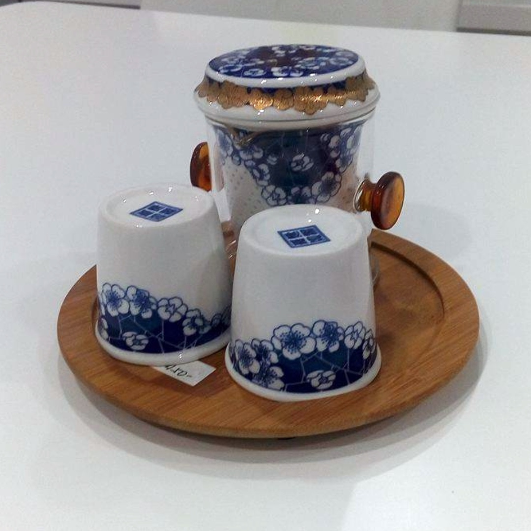 Pre-Order Oriental Tea Set (Tea Infuser and 2 Cups)