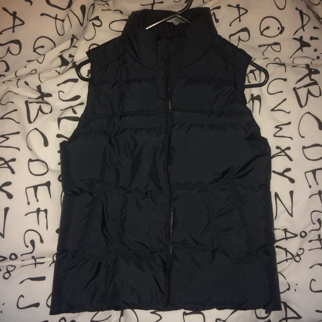✨Black Puffy Warm Winter Vest