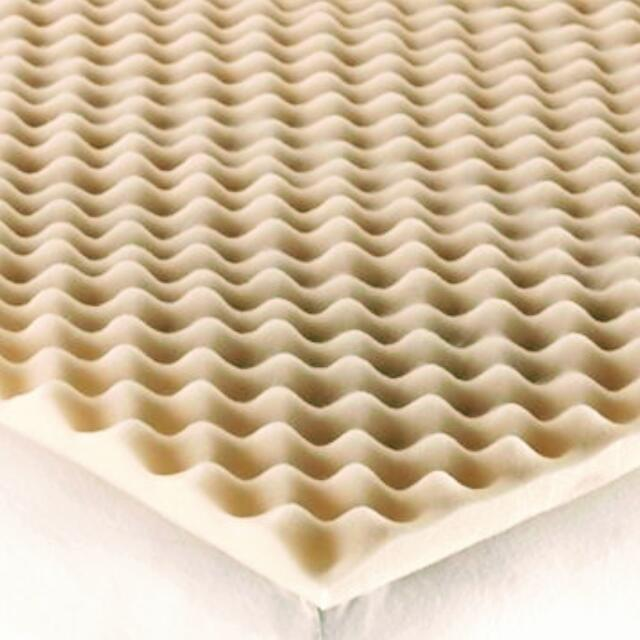 Queen Convoluted Foam Mattress Topper