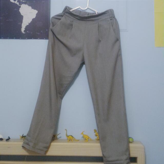Queen Shop 灰色西裝褲