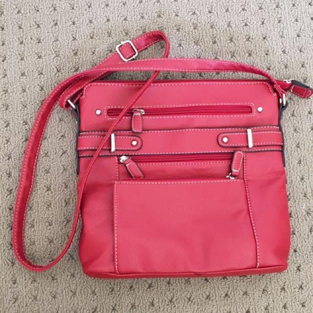Red Cabrelli Handbag