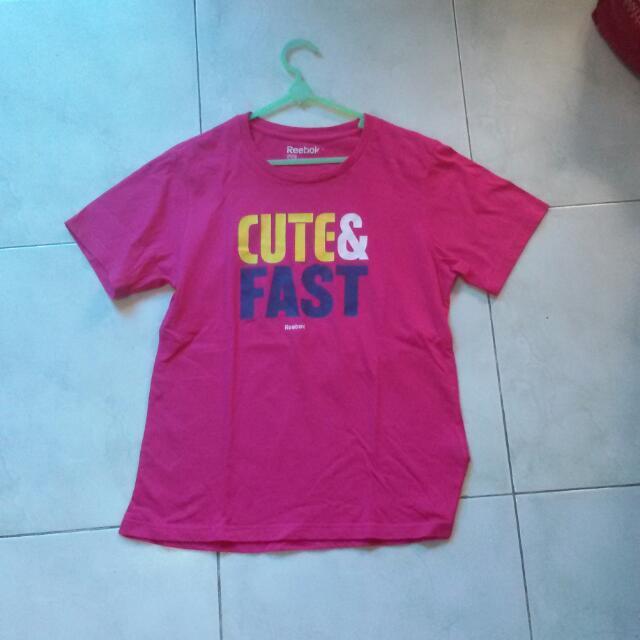 Reebok Pink Shirt
