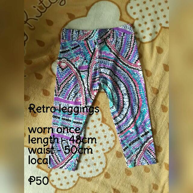 Retro Leggings