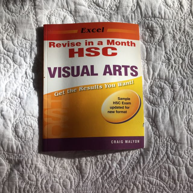 Revise In A Month HSC - Visual Arts