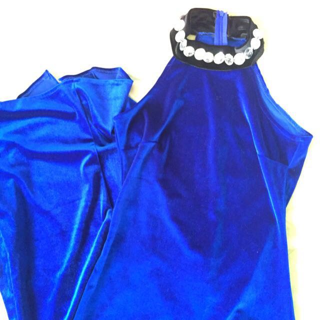 Royal Blue Dress (kabogerrang Dress) 😜