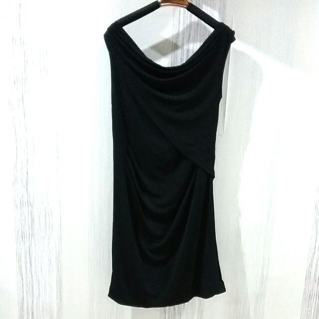 Sabrina Black Dress Size XS-S