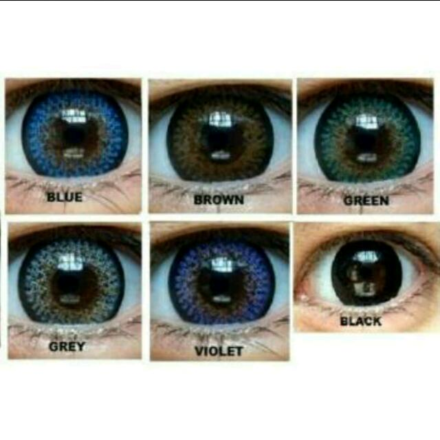 Sale Softlens Cupid Lavender Black