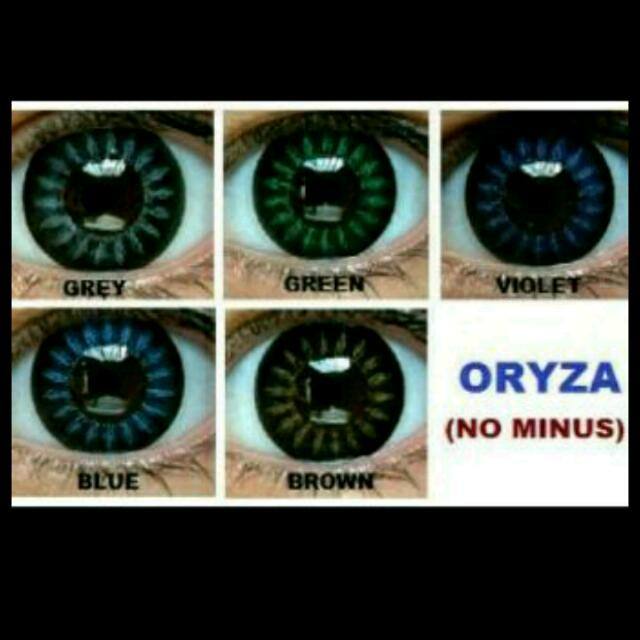 Sale Softlens Oryza No Minus
