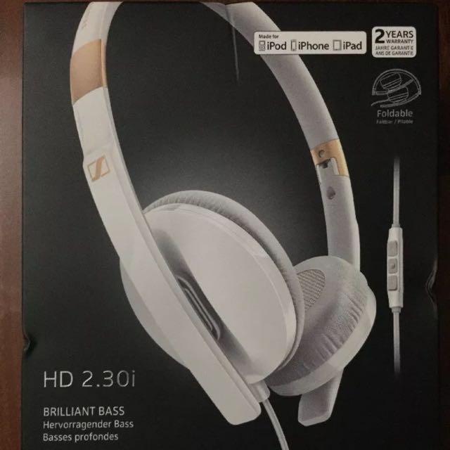 Sennheiser 2.30i Headphones - White
