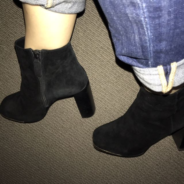 Senso Suede Booties In 40!