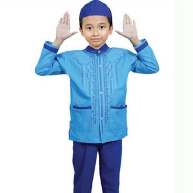 Setelan Baju Muslim Anak Laki Laki Babies Kids Boys Apparel On
