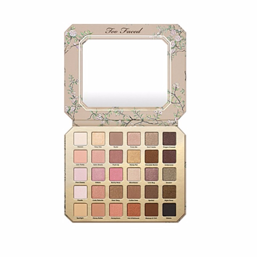 [She'e]🇺🇸 TOO FACED Natural Love eye shadow palette 30色