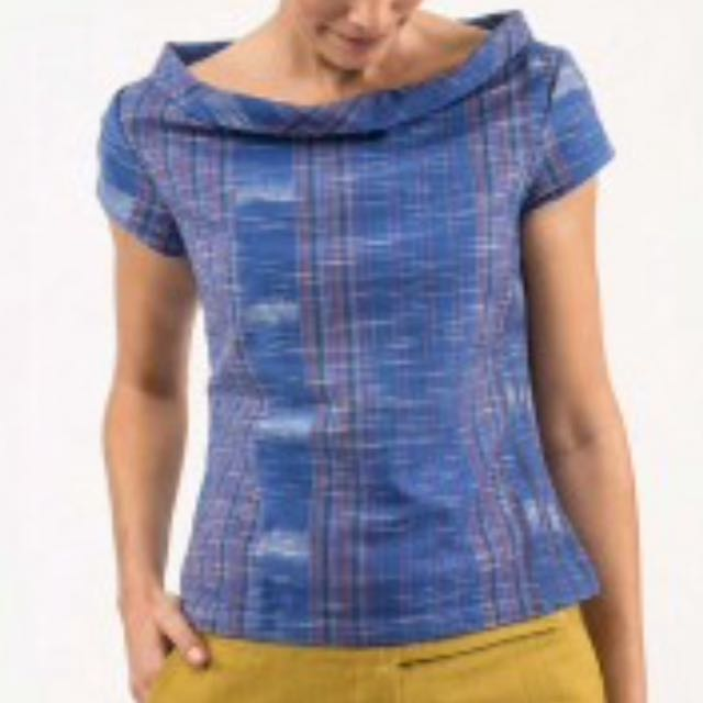 'Sinerji' Organic Cotton Cap Sleeve Top