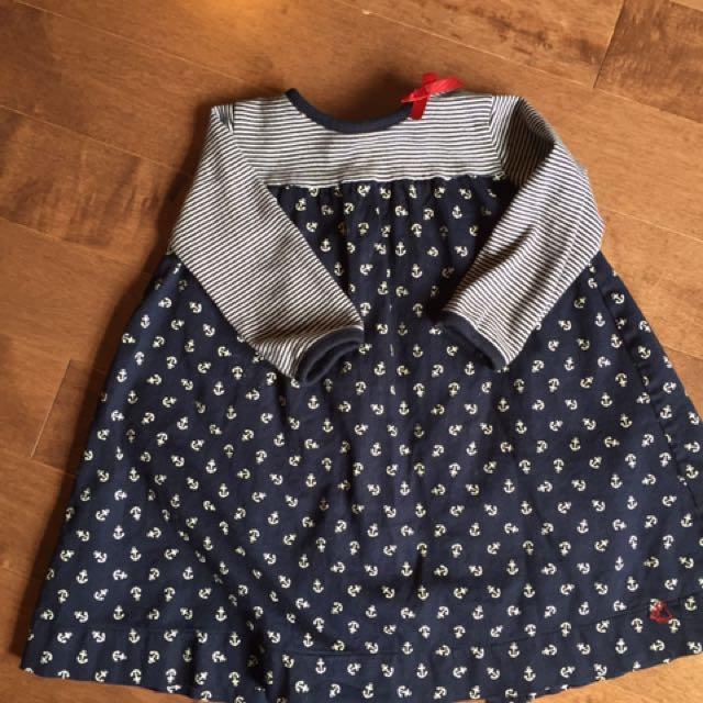 Size 18 Month Petit Bateau Dress