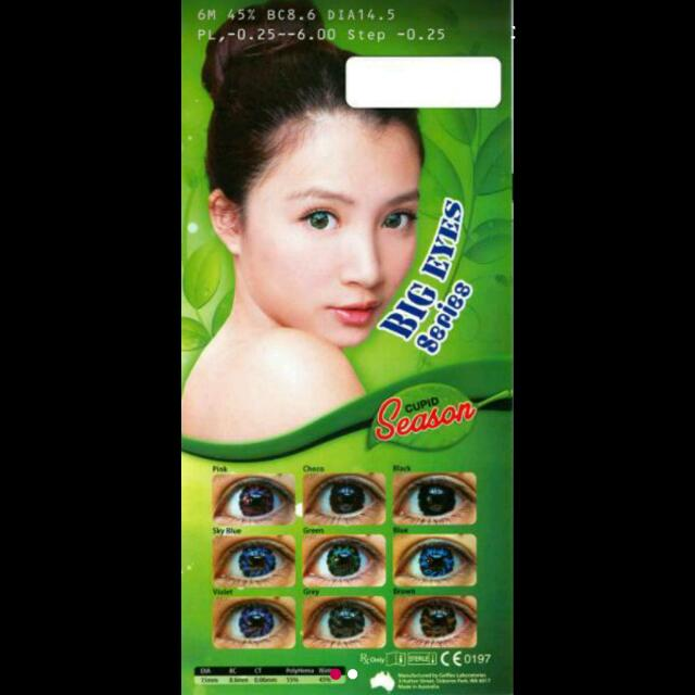 Softlens Cupid Season Big Eyes
