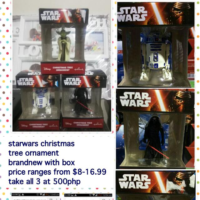 Starwars Chirstmas Tree Ornament