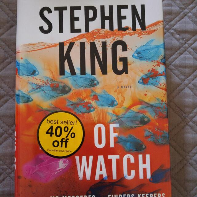 Stephen King Hard Cover Book