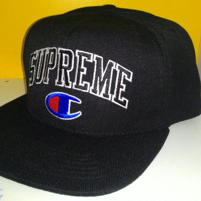 9bfdc46067b Supreme X Champion Snapback Cap