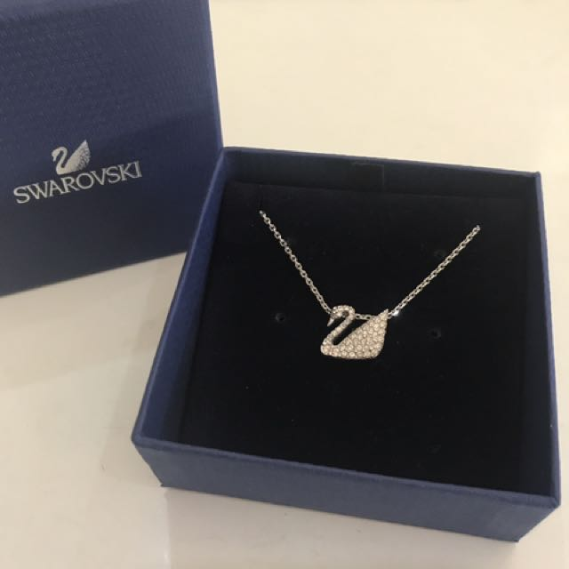 Swarovski Iconic swan Necklace