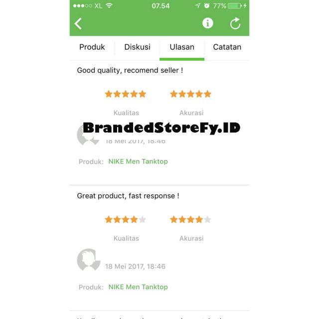 Testi BrandedStoreFy.ID