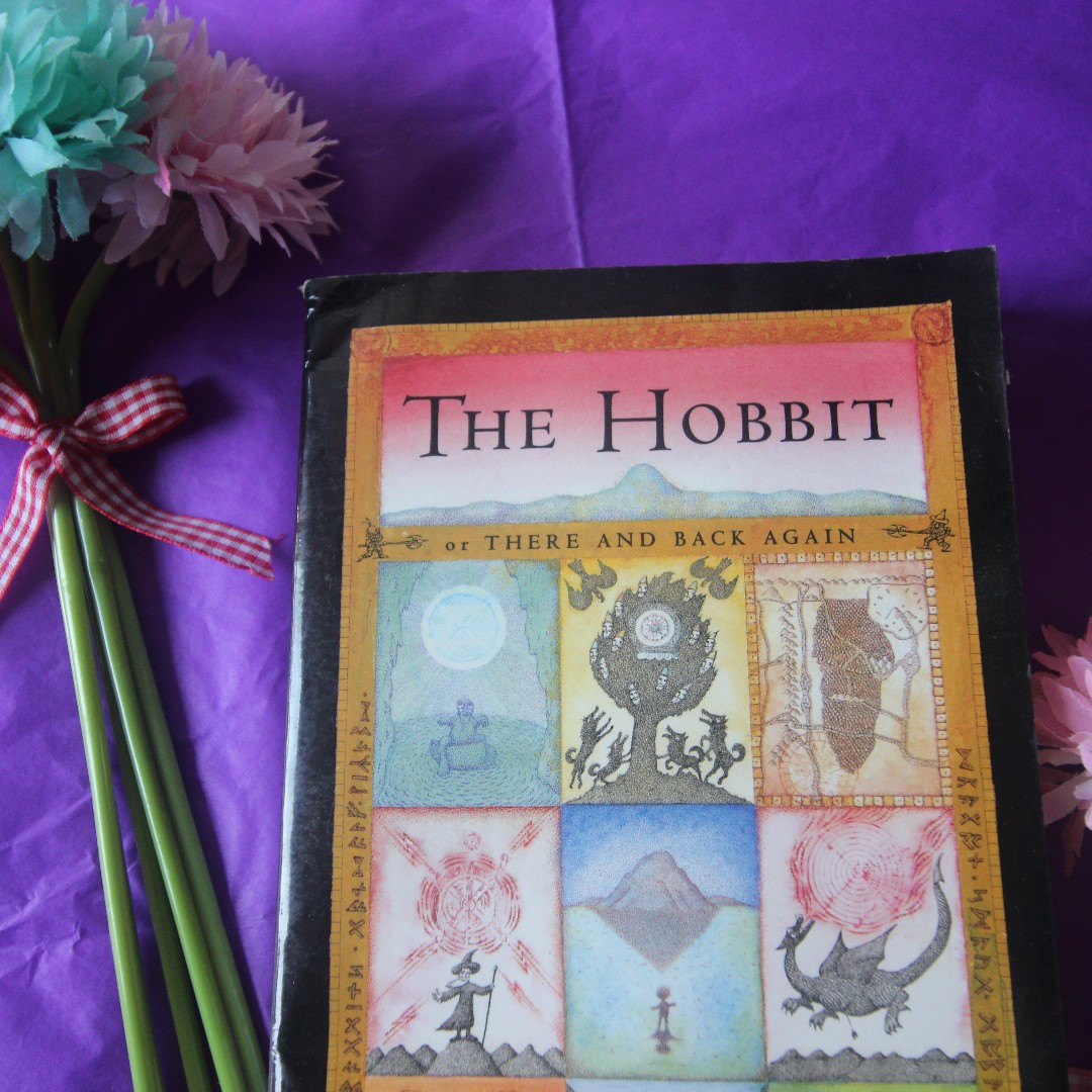 The Hobbit, or There and Back Again, by J.R.R. Tolkein