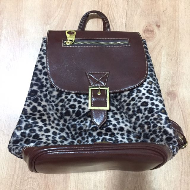 Tickles Animal Print Backpack