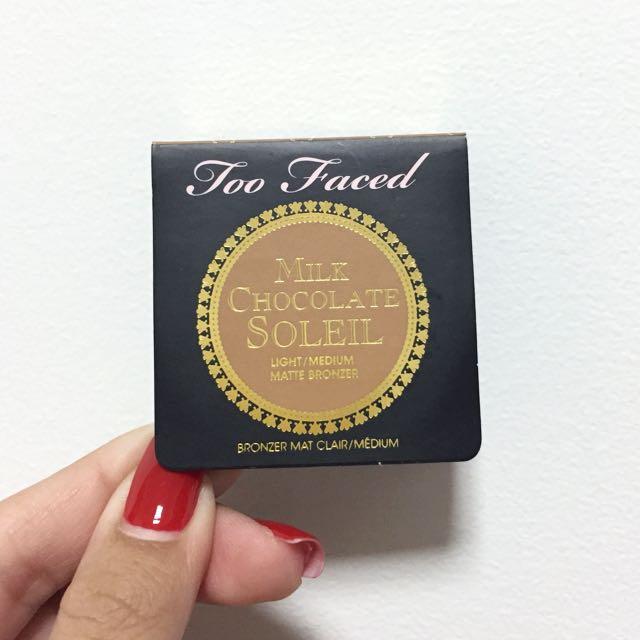2a67ec9a21c7 Too Faced Milk Chocolate Soleil Matte Bronzer (Mini), Health ...