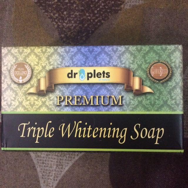 Triple Whitening Soap