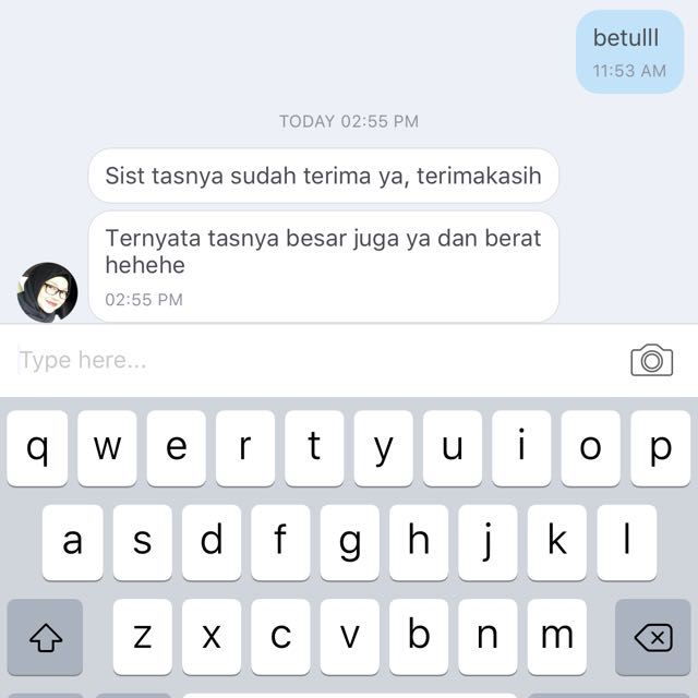 Trusted Seller 😍 Thankyou testi nya