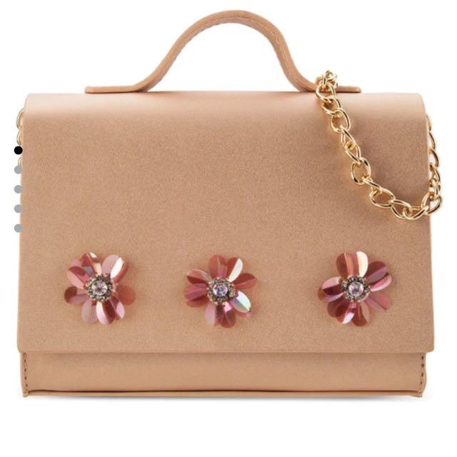 Velvet Flower Bag