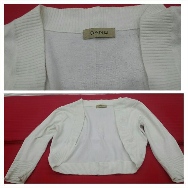 White Cardigans 3/4 Blazer...